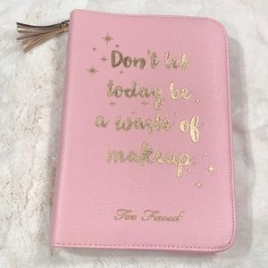 Too Faced leatherette case